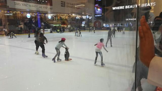 Dubai Mall, sisäluistelurata