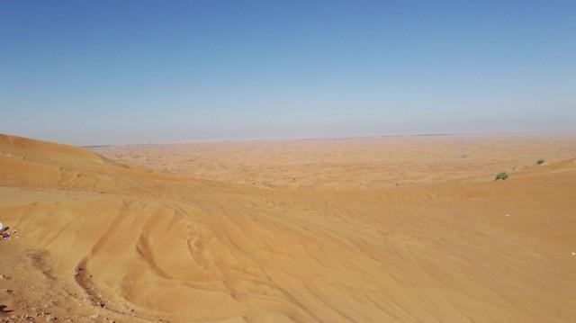 35 vuotta sitten tämän hotellin paikalla Dubaissa oli pelkkää aavikkoa.
