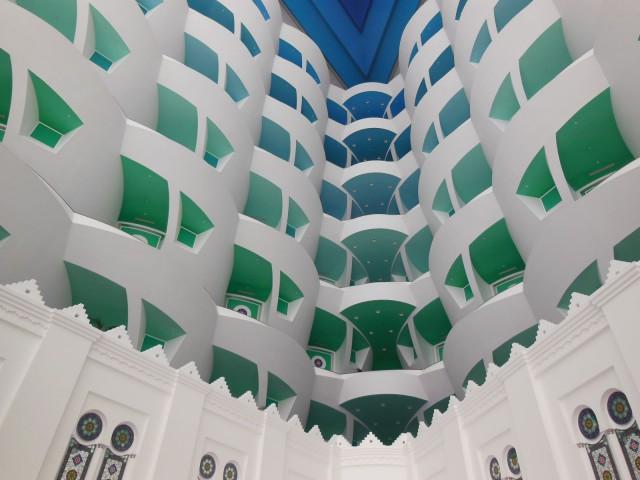 Burj Al Arab -hotelli on kokonaan yhden suunnittelijan suunnittelema.
