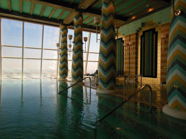 Kiva privaattikylpylä, Burj Al Arab, Dubai