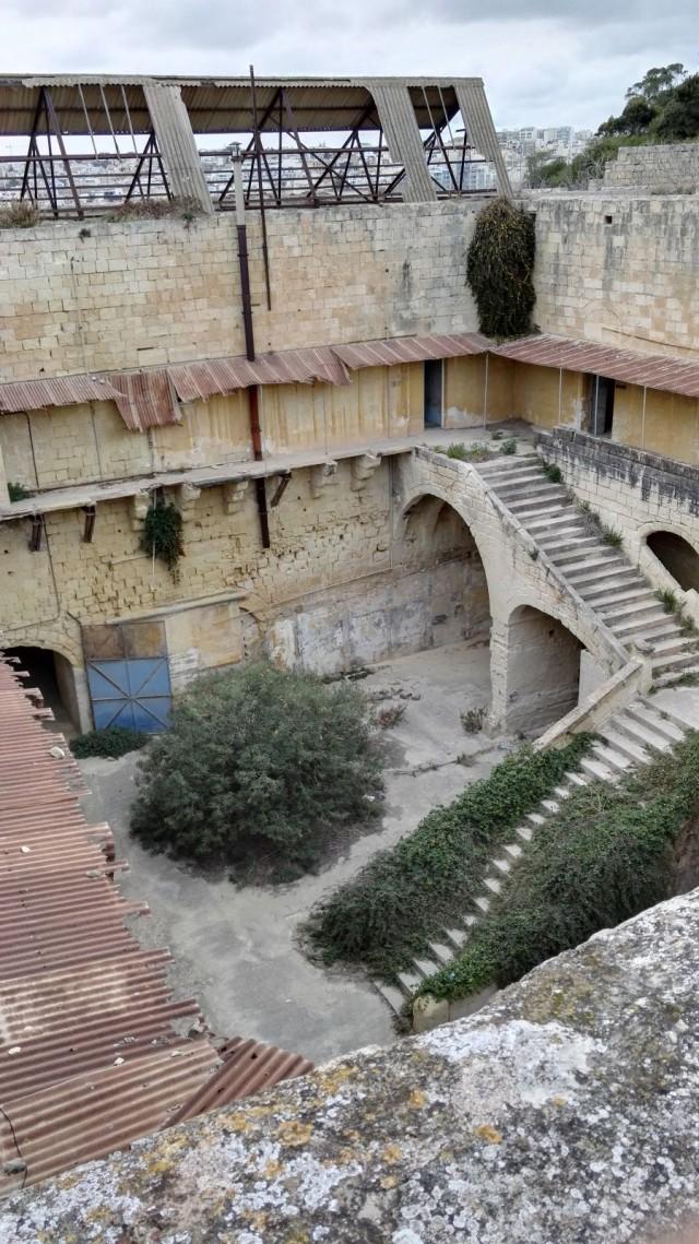 Lazaretti katolta kuvattuna, Malta, Manuel Island, Gzira