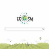 Hakukone Ecosia, kuvakaappaus