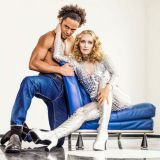 Eurodancen ruumiillistuma E-rotic Stadin Vapussa Rautatientorilla