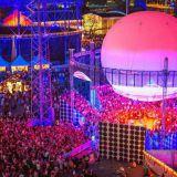 Flow Festivalin Bright Balloon 360° -lavalle uusia kiinnityksiä