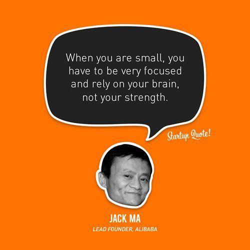Alibaban perustaja kehoittaa käyttämään älyä voiman sijaan.