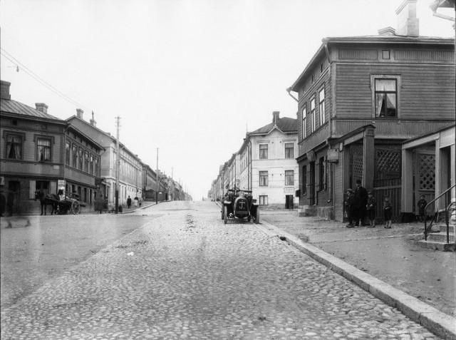 Kallion Kolmaslinja vuonna 1916.