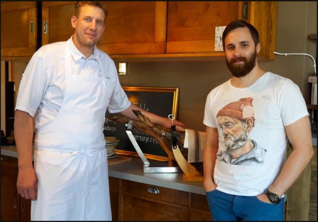 Markus Rautalan kanssa oli mukava jutella ravintola-alasta, ruoasta ja vaikka mistä.