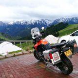Moottoripyörällä Kiinassa, kiinasta vuokratulla KTM 1290 adventure pyörällä