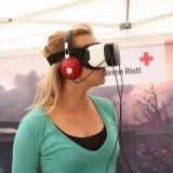 Punainen Risti tuo virtuaalilasit ja uuden pakopelin festareille