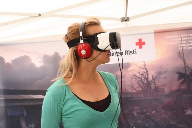 Punainen Risti lähetti Cityn toimittajan käymään Somaliassa virtuaalitodellisuuden välityksellä