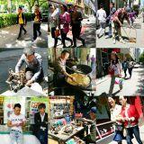 Ihmisiä. Urumqi, Xinjiang, Kiina