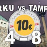 SYÖ!-battle: Turku VS. Tampere