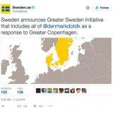 Ruotsi ja Tanska törmäsivät Twitter-sodassa