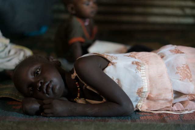 5 yr. old, Nyawich; South Sudan