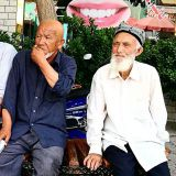 Uiguureita Kashgarissa