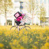 Pyörälähetti ajaa rakkaudesta lajiin