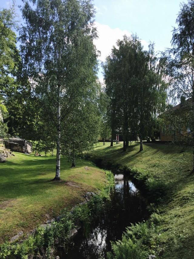 Raumanjoki on paikotellen kuin satukirjasta.