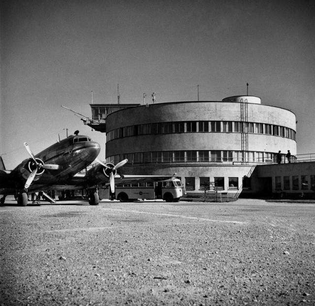 Malmin lentoasema 1949.