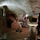 Praha oli joskus Rooman hallinnon pääkaupunki. Kuvassa Rooman hallinnon aikaisen rakennuksen huoneita 1200-luvulta