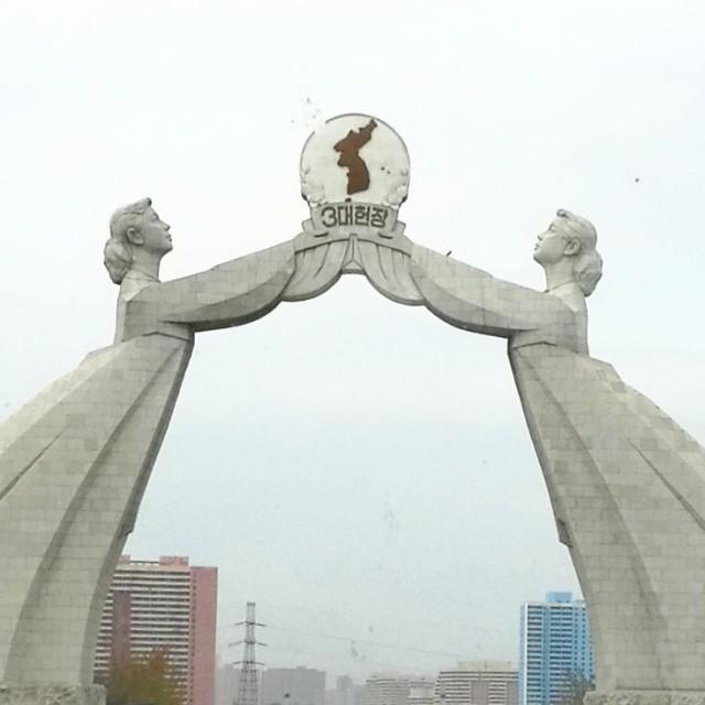 Pohjois-Korealainen unelma: Kun joskus nämä kaksi naista saavat toisensa kiinni. Koreat yhdistyvät jälkeen.