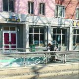 Polkupyörät kannetaan alikulkutunnelien kautta.