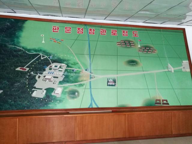 DMZ eli demilitarisoitu vyöhyke jakaa etelän ja pohjoisen Korean