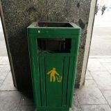 Käsityö on Pohjois-Koreassa edelleen arvossaan. Jopa roskisten merkit on käsin maalattu.