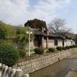Perinteistä Korealaista arkkitehtuuria 1800-luvulta.