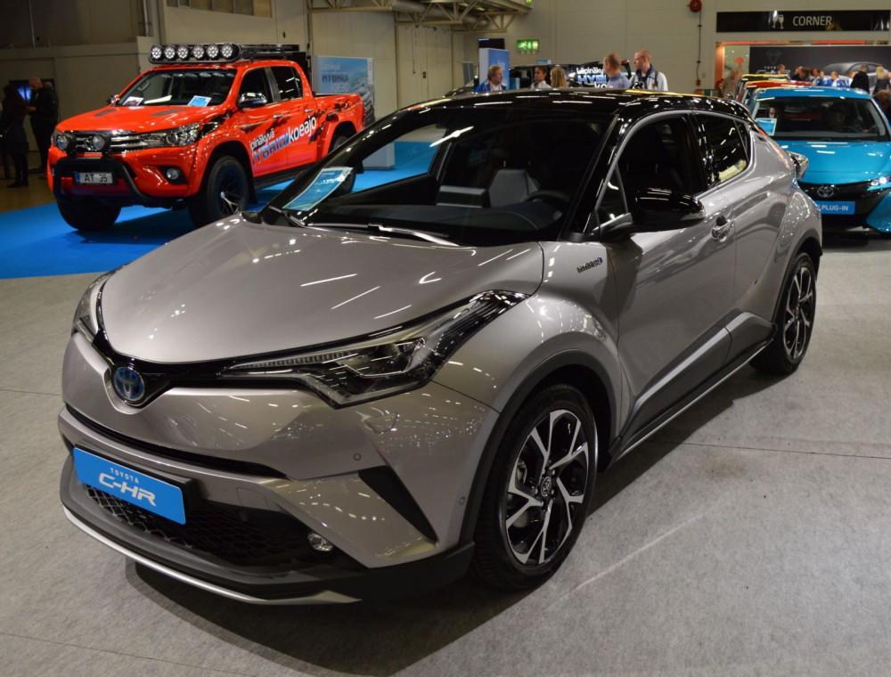 Toyota C-HR Hybrid.