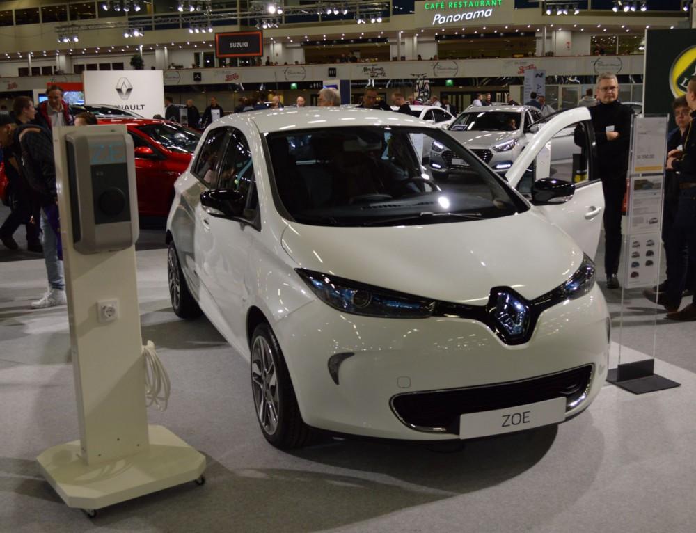 Renault Zoe -täyssähköauto.