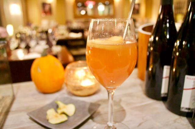 La Maisonin kuuma siideri on runsaan omenainen juoma.