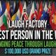 The Funniest Person in the World -semifinaalisti Harri Soinila haastattelussa