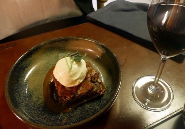 Pecan Pie oli kuin tahmein suklaakakku