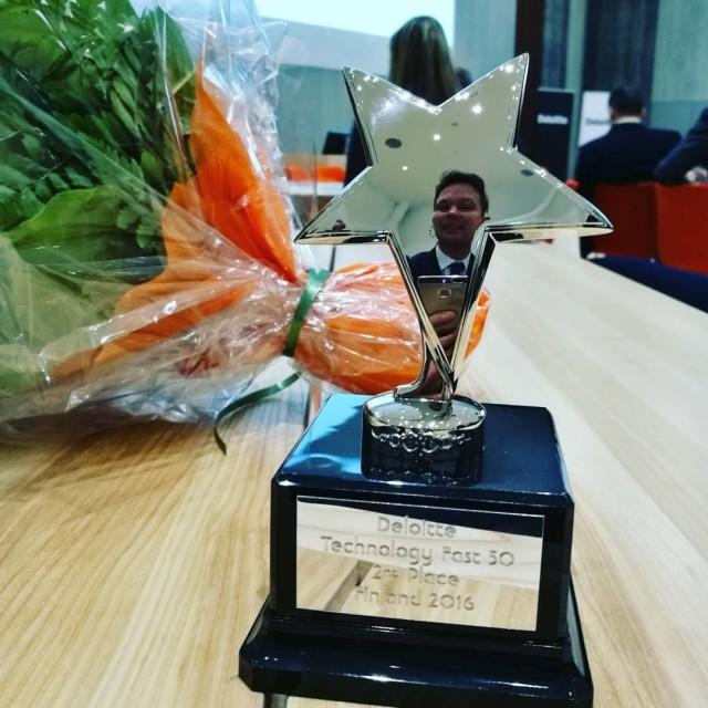 City Digital on Suomen toiseksi nopeiten kasvanut yritys Deloitte Fast50 -kilpailussa.