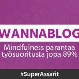 Mindfulness parantaa työsuoritusta jopa 89%
