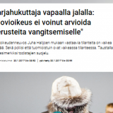 Kuvakaappaus Yle - päivitetelty 20.1.2017 klo 09:55