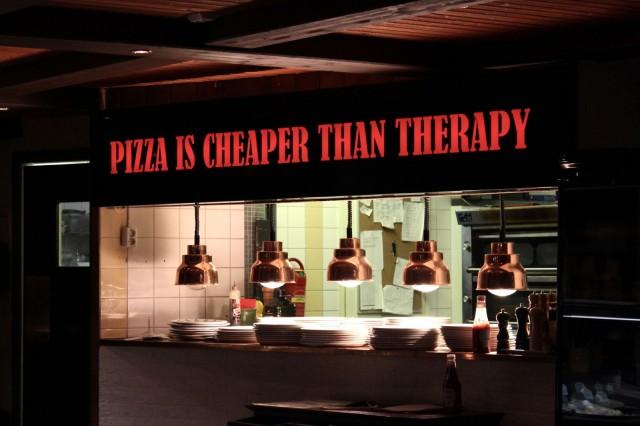 Bella Roman sisustukseen on ikuistettu yksi selitys pizzan kestosuosiolle.