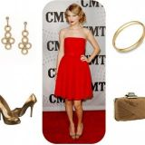 Style guide : rouge et or