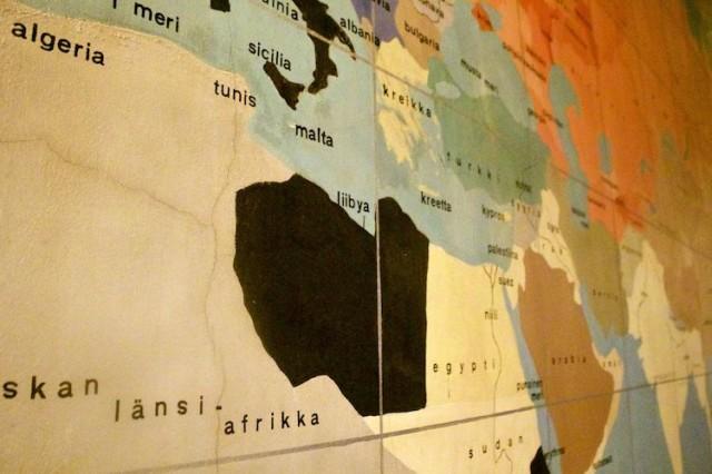 Kartta kiinnostaa ja herättää paljon keskustelua