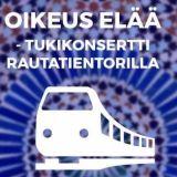 """Tukikonsertti ja """"puhdistus"""" samalla areenalla lauantaina Helsingin keskustassa"""