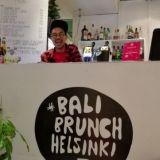 Bali Brunch: Merihaan kannella lämmittää nyt balilainen ilmavirtaus