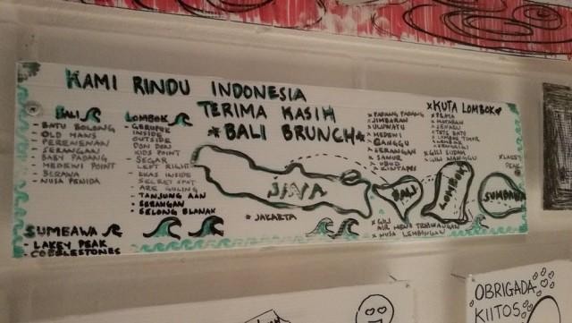 Tämän tehneet puolestaan olivat kiertäneet Balin läpikotaisin ja kirjoittivat vierailemansa paikat ylös.