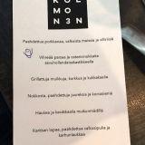 Illan menu