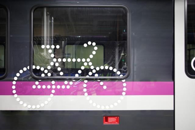 Pyörä Lähijunassa