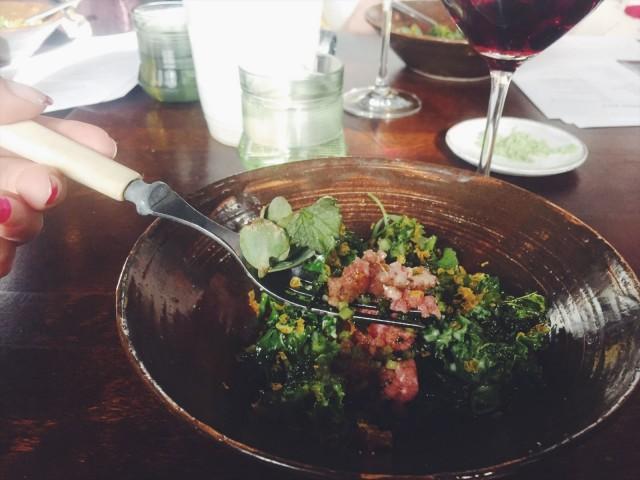 Grönin tartar löytyy aina ravintolan ruokalistalta.