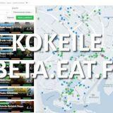 Beta.eat.fi: Uuden Eatin beta-versio julkaistu!