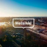 Helsingin kaupungin uusi logo.