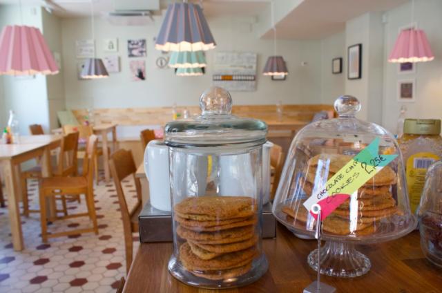 Melt on pastellisen söpö kahvila-ravintola.
