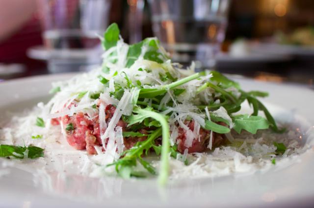 Ensossa maistuu muun muassa tartar – italialaisittain, tietenkin.