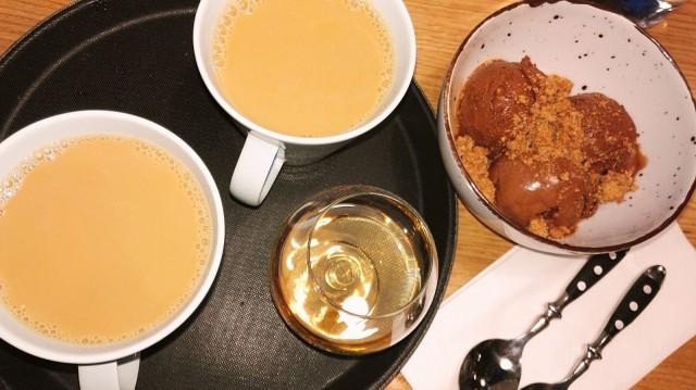 Kahvi ja avec